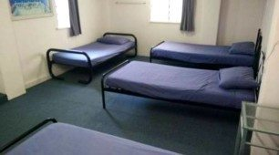 Single bed dormitory